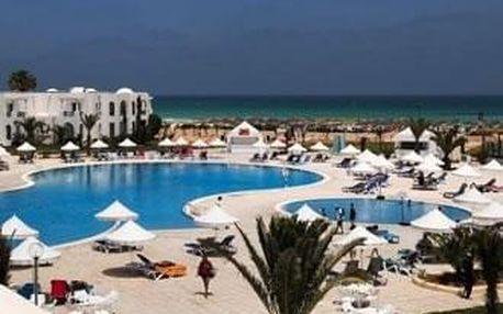 Tunisko - Djerba na 4 až 9 dní, all inclusive s dopravou letecky z Prahy, přímo na pláži