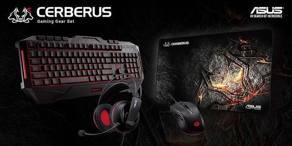Myš Asus Cerberus Gaming Mouse černá / optická / 5 tlačítek / 2500dpi (90YH00Q1-BAUA00)3