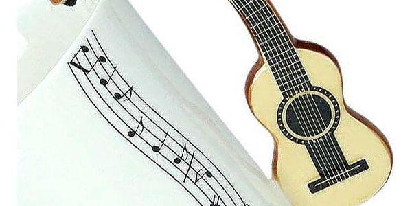 Hudební hrnek - klasická kytara3