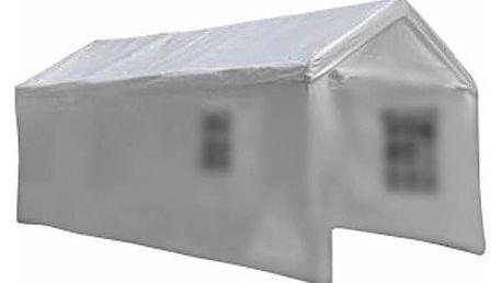 Garthen 6317 Náhradní střecha k zahradnímu stanu 4 x 8m - bílá