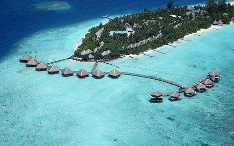 Maledivy - Jižní Atol Male na 10 dní, all inclusive s dopravou letecky z Prahy, přímo na pláži