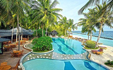 Maledivy - Royal Island Resort na 10 dní, plná penze s dopravou letecky z Prahy, přímo na pláži