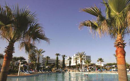 Kypr - Agia Napa na 8 dní, polopenze s dopravou letecky z Prahy, přímo na pláži