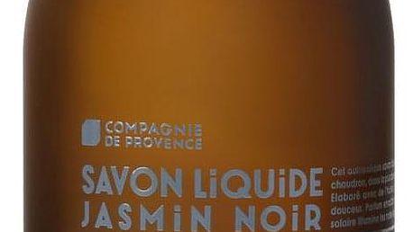 COMPAGNIE DE PROVENCE Tekuté mýdlo Jasmín 500ml, modrá barva, hnědá barva, sklo