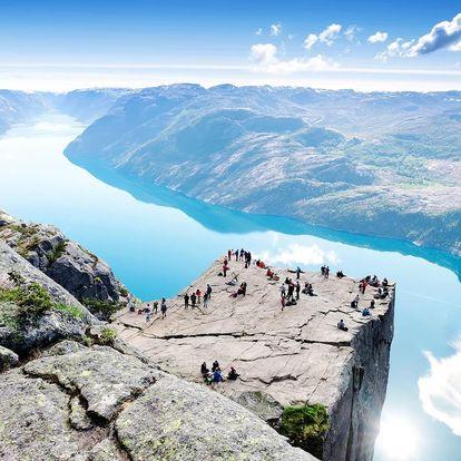 Velký okruh Norskem s dopravou a ubytováním