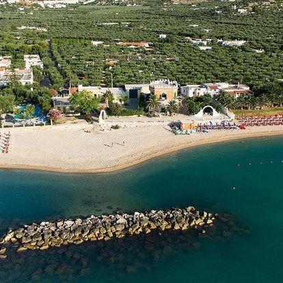 Itálie - Gargano na 10 až 12 dní, snídaně nebo bez stravy s dopravou autobusem, 50 m od pláže