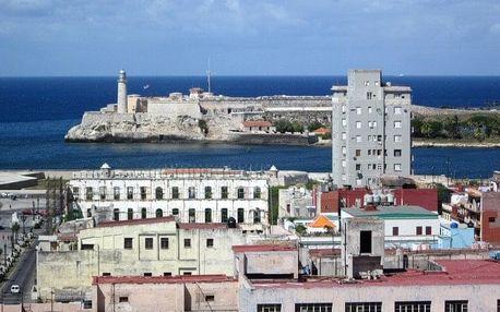Kuba - La Habana (Havana) na 9 dní, bez stravy s dopravou letecky z Prahy