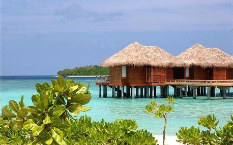 Maledivy - Severní Atol Male na 10 dní, snídaně s dopravou letecky z Prahy, přímo na pláži