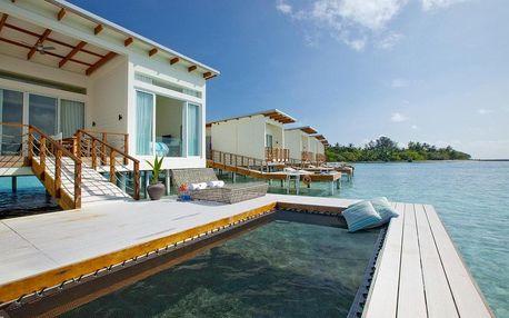 Maledivy - Jižní Atol Male na 9 dní, bez stravy s dopravou letecky z Prahy, přímo na pláži