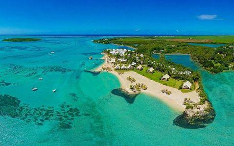 Mauricius - Blue Bay na 7 dní, polopenze s dopravou letecky z Prahy, přímo na pláži