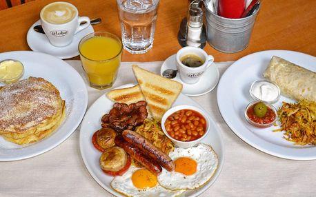 Voucher v hodnotě 300 a 500 Kč na snídaňové menu