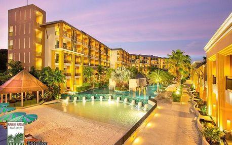 Thajsko - Phuket na 7 až 11 dní, snídaně s dopravou letecky z Prahy, 200 m od pláže