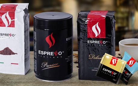 Neapolská káva v kapslích, podech i 250g balení
