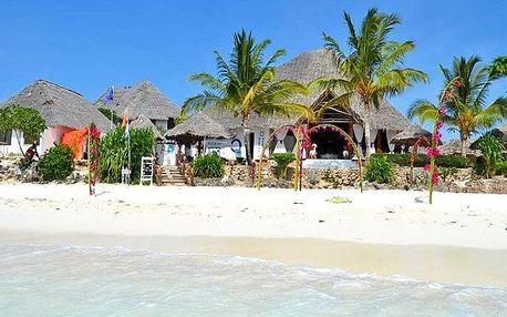 Zanzibar - Kichanga Lodge na 7 dní, snídaně s dopravou letecky z Prahy, přímo na pláži