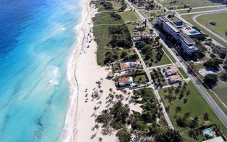 Kuba - La Habana (Havana) na 9 dní, all inclusive s dopravou letecky z Prahy, přímo na pláži