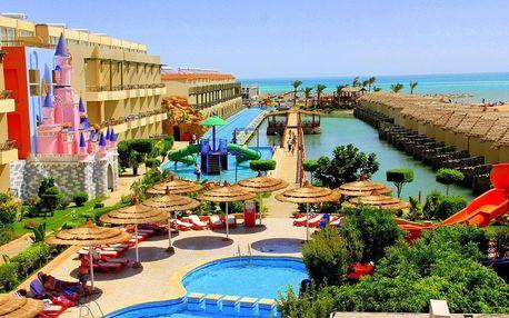 Egypt - Hurghada na 8 až 9 dní, all inclusive s dopravou letecky z Prahy, přímo na pláži