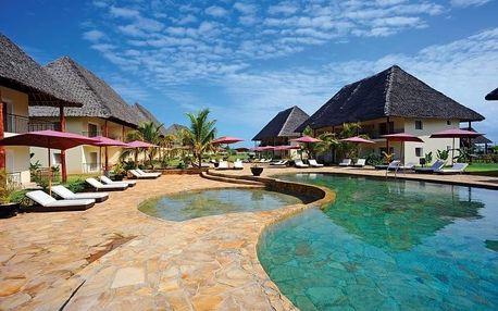 Zanzibar - Kiwengwa na 9 dní, polopenze s dopravou letecky z Prahy, přímo na pláži