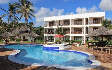 Zanzibar - Reef & Beach Resort na 8 dní, snídaně s dopravou letecky z Prahy