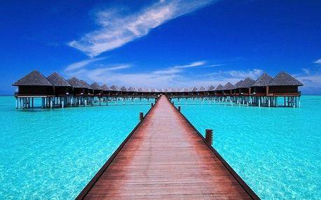 Maledivy - Jižní Atol Male na 9 dní, snídaně s dopravou letecky z Prahy, přímo na pláži