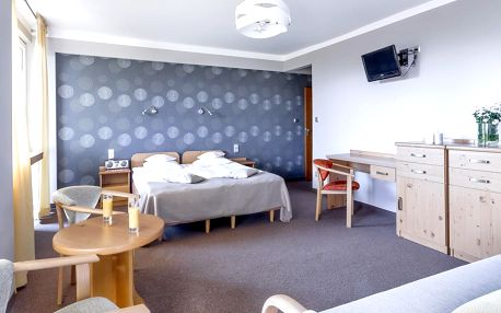 Horský hotel Rysy v polských Tatrách s polopenzí jen 1 km od termálů