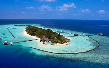 Maledivy - Lhaviyani Atol na 9 až 10 dní, plná penze s dopravou letecky z Prahy, přímo na pláži