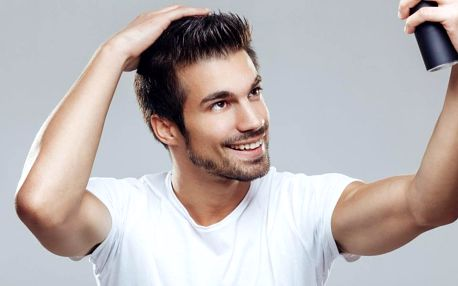 Péče pro pány: mytí, střih masáž hlavy i styling