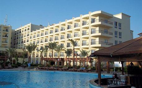 Egypt - Hurghada na 6 až 9 dní, all inclusive s dopravou letecky z Prahy, přímo na pláži