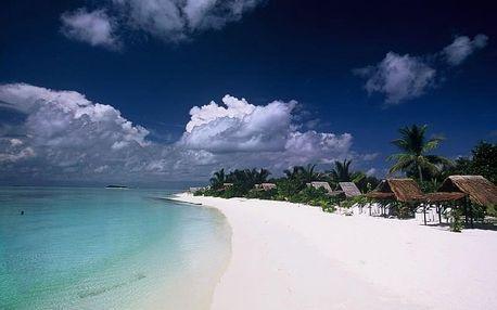 Maledivy - Severní Atol Male na 7 dní, polopenze s dopravou letecky z Prahy, přímo na pláži