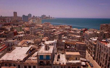 Kuba - La Habana (Havana) na 9 až 12 dní, bez stravy s dopravou letecky z Prahy