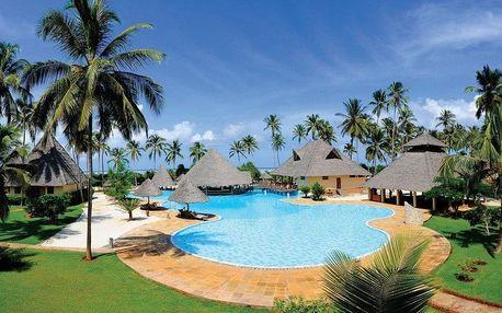 Zanzibar - Kiwengwa na 9 dní, all inclusive s dopravou letecky z Prahy, přímo na pláži