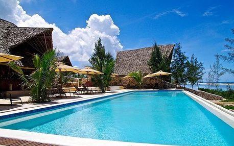 Zanzibar - Sunshine Marine Lodge (Matemwe) na 9 až 11 dní, snídaně s dopravou letecky z Prahy