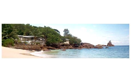 Seychely - Mahé na 9 dní, snídaně s dopravou letecky z Prahy, přímo na pláži
