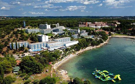 Chorvatsko - Poreč na 10 dní, polopenze s dopravou autobusem, 30 m od pláže