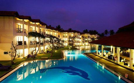 Srí Lanka - Negombo na 7 dní, all inclusive s dopravou letecky z Prahy, přímo na pláži
