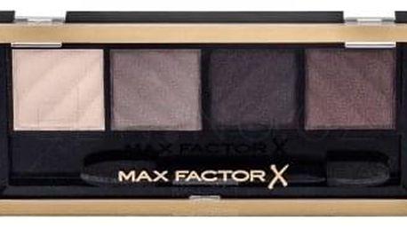 Max Factor Smokey Eye Drama Matte 1,8 g paletka matných očních stínů pro kouřové líčení pro ženy 30 Smokey Onyx