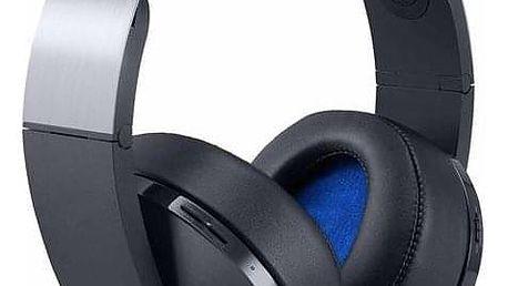 Sony Platinum Wireless pro PS4 s 3D audio černý (PS719812753)