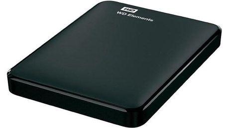 Western Digital Elements Portable 750GB černý (WDBUZG7500ABK-WESN)