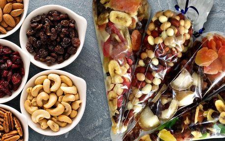 Zažeňte mlsnou: směsi s ovocem, semínky a ořechy