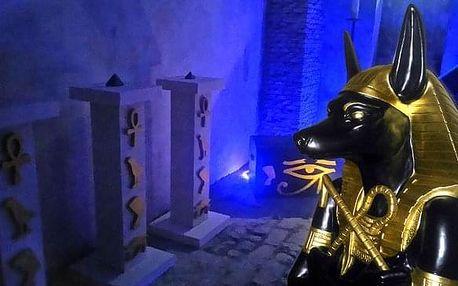 Prokletí egyptské hrobky: únikovka až pro 6 os.