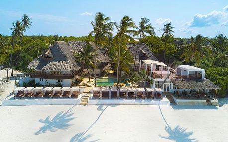 Zanzibar - Dreams Bay Boutique (Matemwe) na 9 dní, plná penze nebo polopenze s dopravou letecky z Prahy