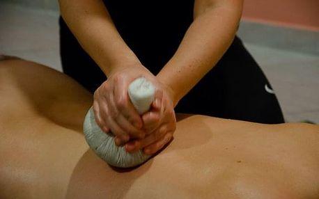 Ájurvédská masáž bylinnými pytlíčky 20.4.2019