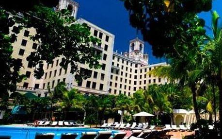 Kuba - La Habana (Havana) na 9 až 11 dní, snídaně s dopravou letecky z Prahy, 100 m od pláže