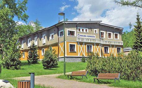 Vysoké Tatry v apartmánu/studiu s golfem, slevami a snídaní + dítě do 11,9 let zdarma