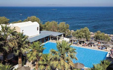 Řecko - Santorini na 8 dní, polopenze nebo snídaně s dopravou letecky z Prahy, přímo na pláži