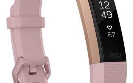 Fitbit Alta HR small - Pink Rose Gold (FB408RGPKS-EU)