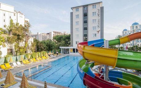 Turecko - Alanya na 8 dní, all inclusive s dopravou letecky z Prahy, 150 m od pláže