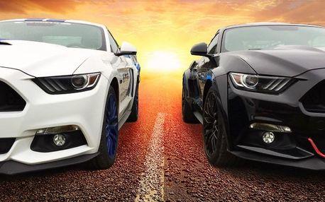 Jízda snů v nadupaném Fordu Mustang GT pro 1 i 2
