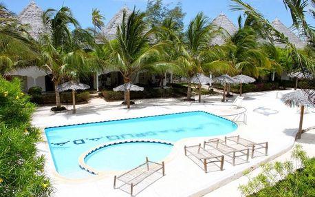 Zanzibar - La Madrugada Beach Resort na 9 dní, snídaně s dopravou letecky z Prahy