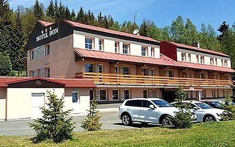 Relaxační wellness pobyt pro dva v hotelu Bon***. Privátní wellness, vířivka, sauna, bowling.