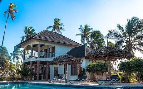 Zanzibar - Pwani Mchangani na 8 dní, snídaně s dopravou letecky z Prahy